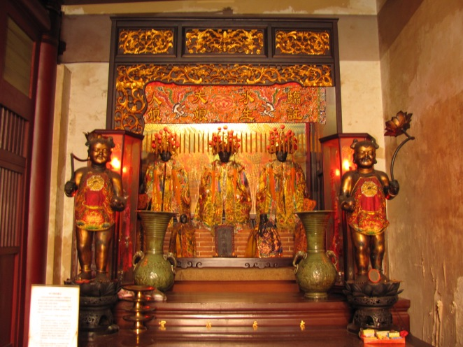 Shrine to Lady Linshui and Child-granting Lady in Tainan, Taiwan